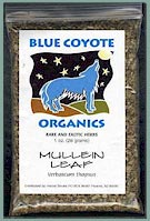 Buy Blue Coyote Organic Mullein at FindHerb.Com